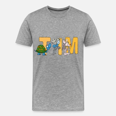 shop the tim tracker t shirts online spreadshirt