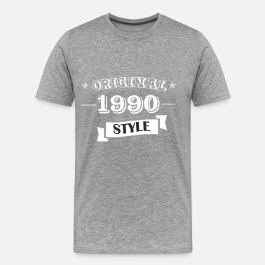 1990s Original 1990 Style - Men's Premium T-Shirt