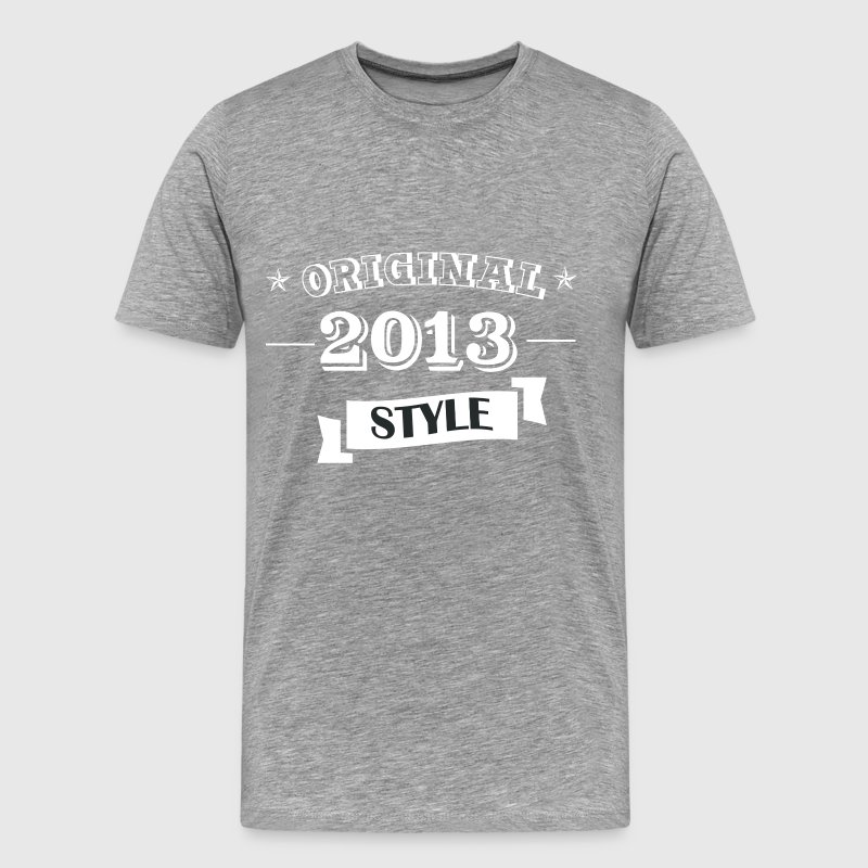 Original 2013 Style - Men's Premium T-Shirt