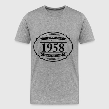 All original Parts 1958 - Men's Premium T-Shirt