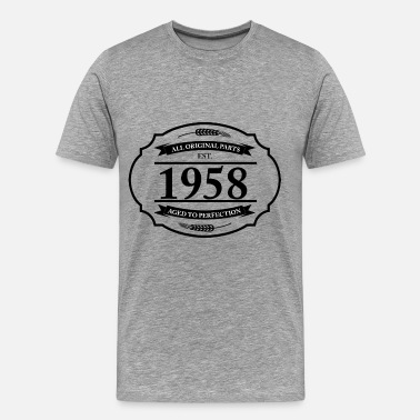 All Original Parts 1958 All original Parts 1958 - Men's Premium T-Shirt