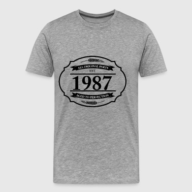 All original Parts 1987 - Men's Premium T-Shirt