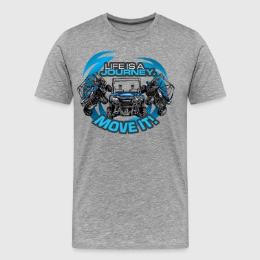 UTV SxS Move It Yamaha - Men's Premium T-Shirt