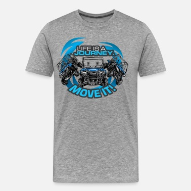 Utv UTV SxS Move It Yamaha - Men's Premium T-Shirt