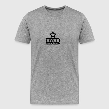 Hard Worker Star - Men's Premium T-Shirt
