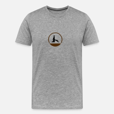 Penis Icon Back icon - Men's Premium T-Shirt