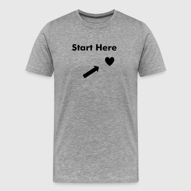 Start Here - Men's Premium T-Shirt
