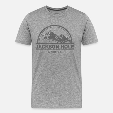 Jackson Hole Wyoming Jackson Hole Wyoming - Men's Premium T-Shirt