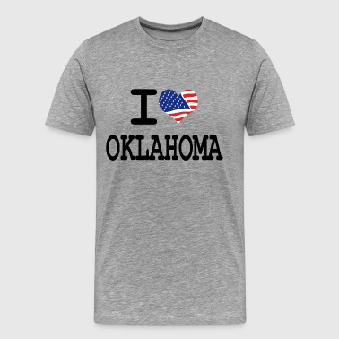 i love oklahoma - Men's Premium T-Shirt