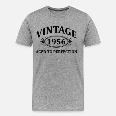 Vintage 1956 Aged To Perfection vintage 1956 aged to perfection - Men's Premium T-Shirt