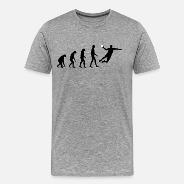Trainer Handball Players Handball Evolution - Men's Premium T-Shirt