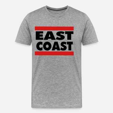 East Coast EAST COAST - Men's Premium T-Shirt