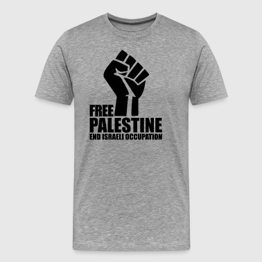 Free Palestine End Israel - Men's Premium T-Shirt