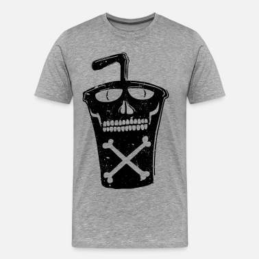 Soda Drink Soda cup fast food drink - Men's Premium T-Shirt