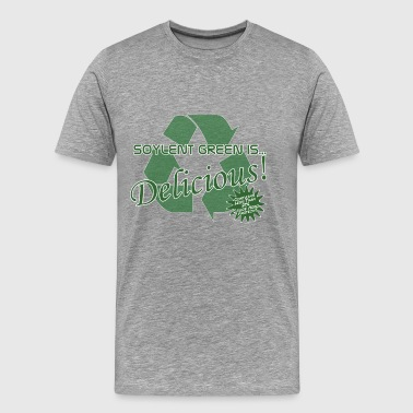Soylent Green with Hobos - Men's Premium T-Shirt