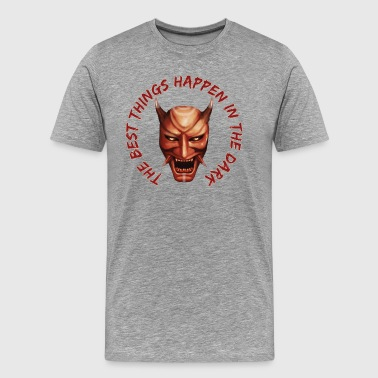 Hannya Hannya Mask - Men's Premium T-Shirt