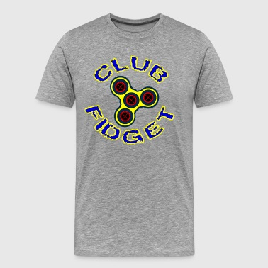 Fidget Spinner - Club Fidget - Men's Premium T-Shirt