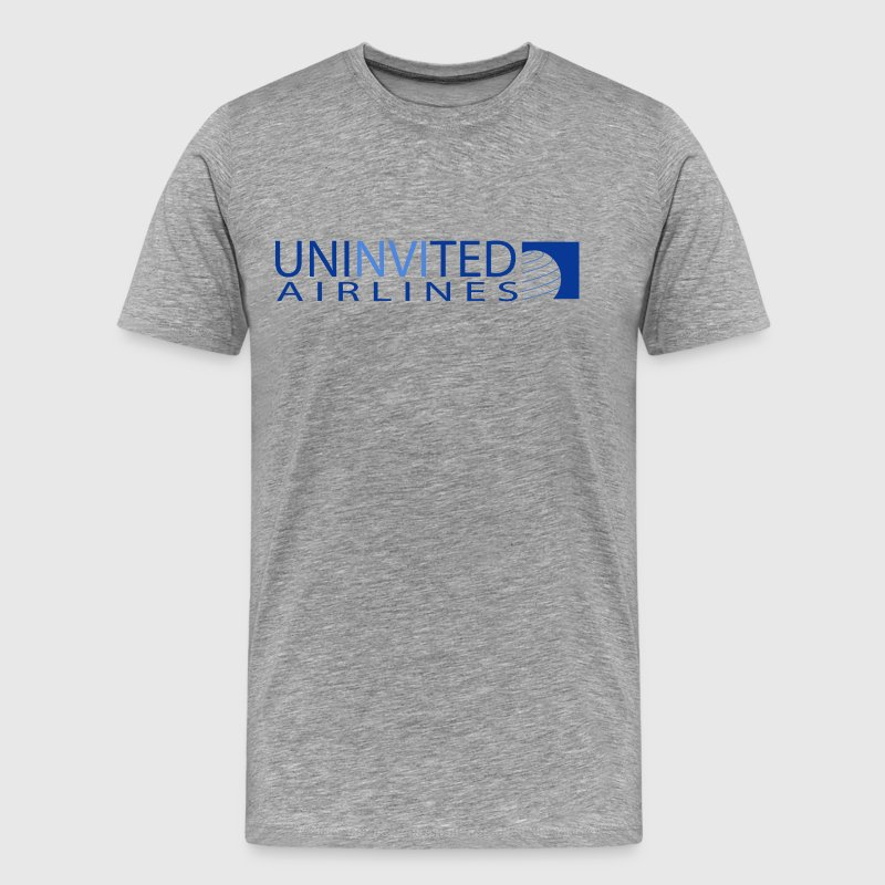 UNINVITED AIRLINES - Men's Premium T-Shirt
