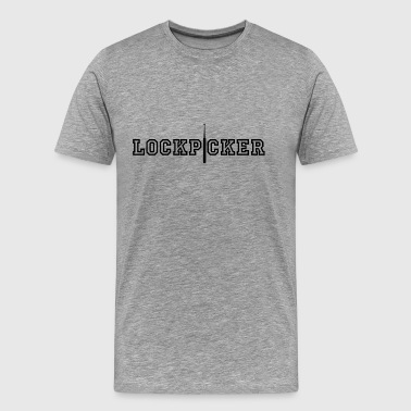 Lockpicker [filled edition] - Men's Premium T-Shirt