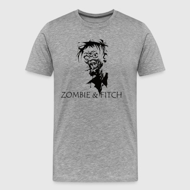 Zombie & fitch [black edition] - Men's Premium T-Shirt