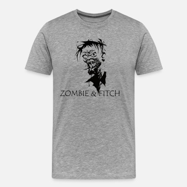 Abercrombie And Fitch Zombie & fitch [black edition] - Men's Premium T-Shirt