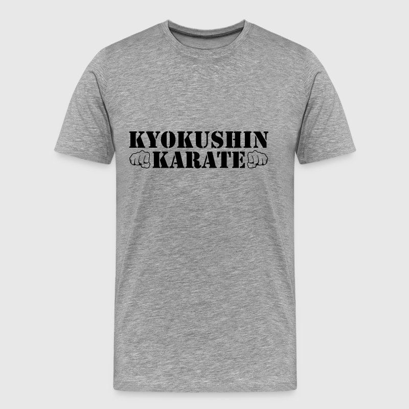 Kyokushin Karate - Men's Premium T-Shirt