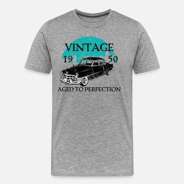 1950s Cars Born 1950 Birthday 1950 - Men's Premium T-Shirt