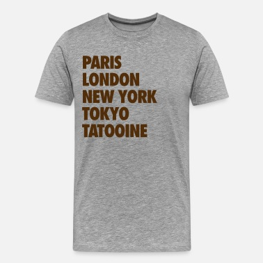 Tatooine tatooine - Men's Premium T-Shirt