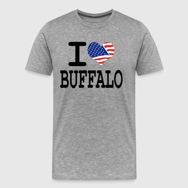 I Love Buffalo i love buffalo - Men's Premium T-Shirt