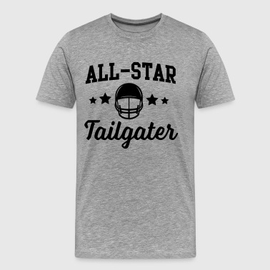 Tailgate All-Star Football Tailgater - Men's Premium T-Shirt