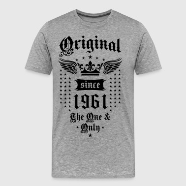 18 Original Since 1961 The One and Only Crown Wings - Men's Premium T-Shirt