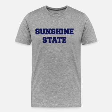 Florida-sunshine-state-states florida sunshine state - Men's Premium T-Shirt