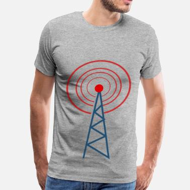Radio radio tower - Men's Premium T-Shirt