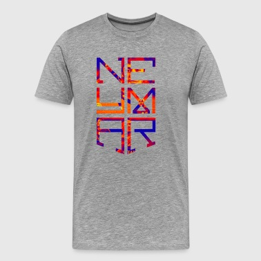 Neymar Jr Logo - Men's Premium T-Shirt