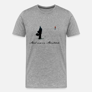 Spotless Meet Me In Montauk - Men's Premium T-Shirt