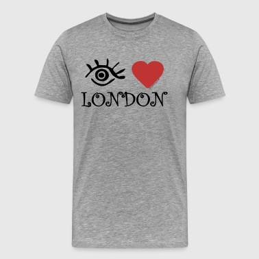 Eye-Love London - Men's Premium T-Shirt
