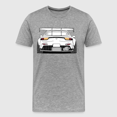 rx7 rear - Men's Premium T-Shirt
