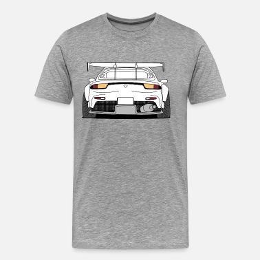 Rear rx7 rear - Men's Premium T-Shirt