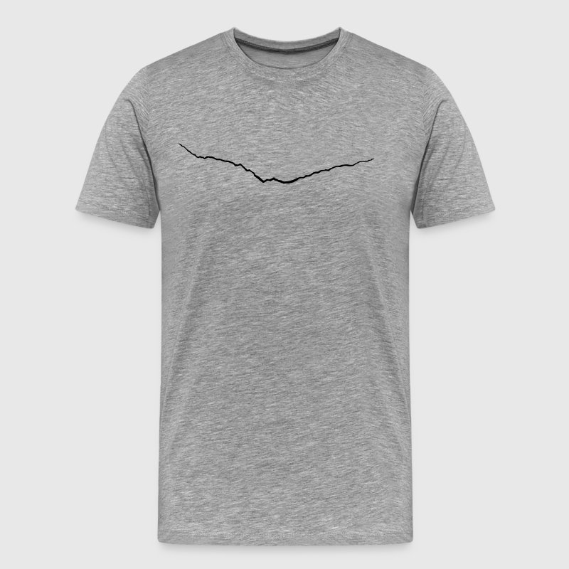 crack - Men's Premium T-Shirt