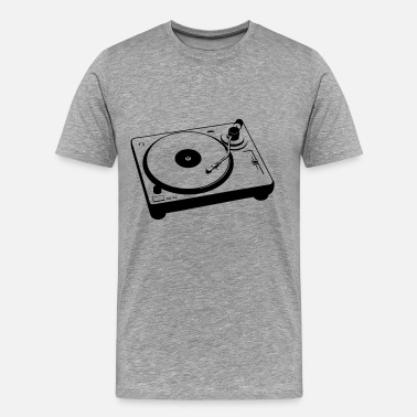 Turntablism Turntable - Men's Premium T-Shirt