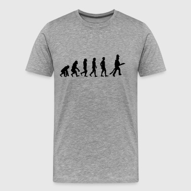 Fire Fighter Evolution - Men's Premium T-Shirt