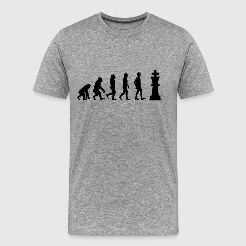 Chess evolution - Men's Premium T-Shirt