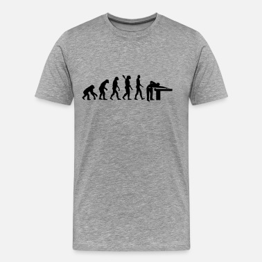 Snooker Evolution Billards - Men's Premium T-Shirt