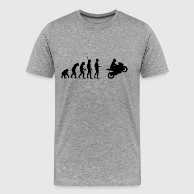 Evolution Motorcycle Evolution Motorbike - Men's Premium T-Shirt