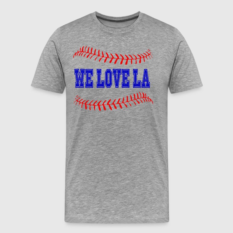 WE LOVE LA - Men's Premium T-Shirt