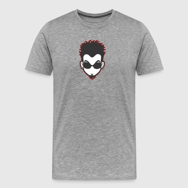 Red Ear The face - Men's Premium T-Shirt