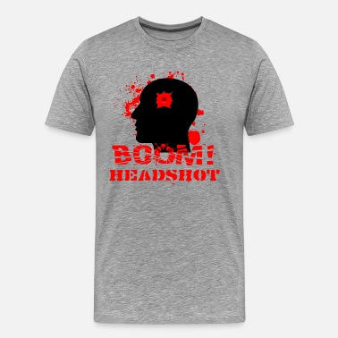 Boom Head Shot BOOM HEADSHOT 2 - Men's Premium T-Shirt