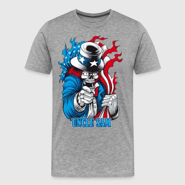 Uncle Dead wants You - Men's Premium T-Shirt
