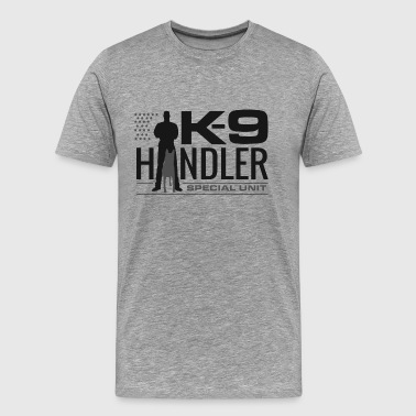 K-9 Handler - K9 Unit - Malinois - Men's Premium T-Shirt