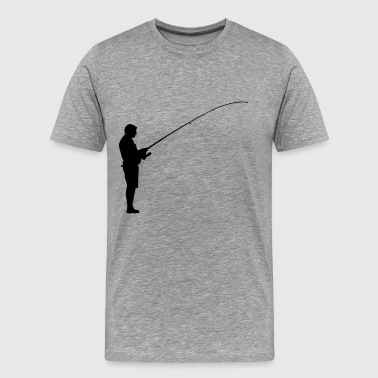 Angler Fish Angler Fishing - Men's Premium T-Shirt